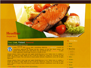 Кулинарная тема Вордпресс Food Store