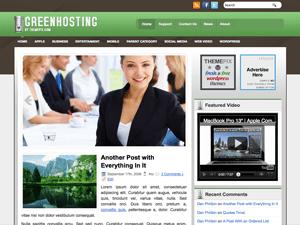 Бизнес-тема Вордпресс GreenHosting