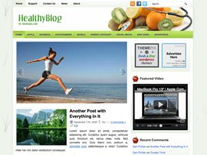 Вордпресс тема здоровье HealthyBlog