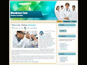 Шаблон Вордпресс медицина Herbal Doctors
