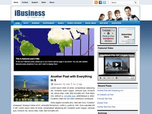 Бизнес шаблондля WordPress iBusiness