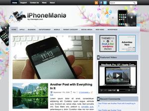 Вордпресс тема телефоны iPhoneMania