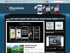 Wordpress шаблон телефоны iPhoneSales