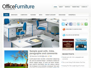 Бизнес тема Вордпресс OfficeFurniture