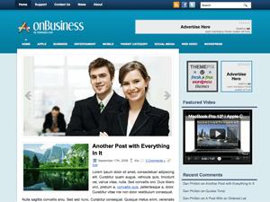 Шаблон WordPress бизнес onBusiness