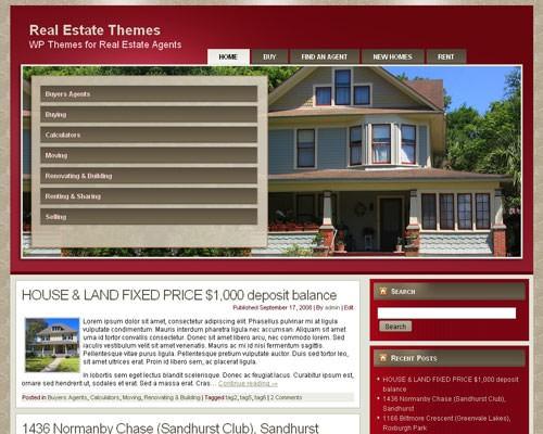 Wordpress шаблон на тему недвижимости Real-estate-agent-6