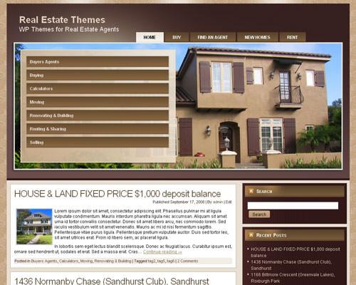 Вордпресс шаблон недвижимость Real-estate-agent-8