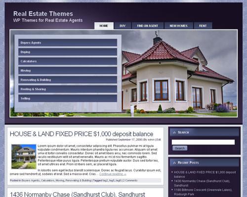 Wordpress тема о недвижимости Real-estate-agent-7
