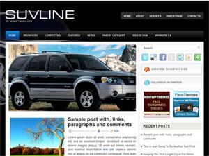 Автомобильная тема WordPress SuvLine