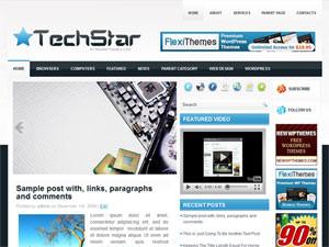 Шаблон Вордпресс техно TechStar