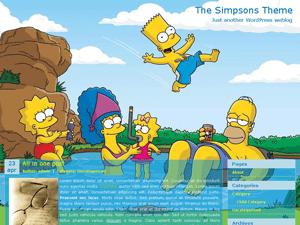 Шаблон ВП игры The simpsons theme