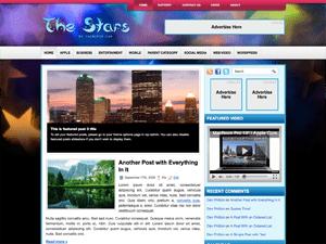 Универсальная тема Вордпресс TheStars