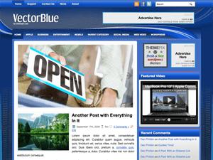 Бизнес-тема Вордпресс VectorBlue