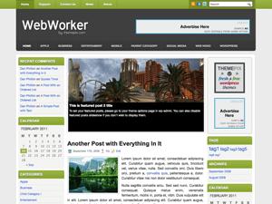 Универсальная тема WordPress WebWorker