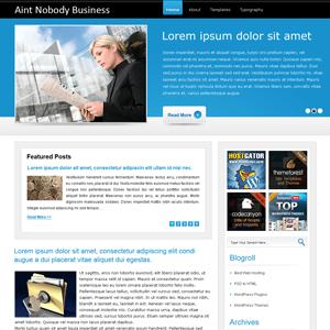 Бизнес-тема WordPress Am-company