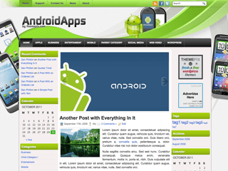 Wordpress тема техно AndroidApps