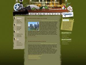 Киношаблон для WordPress Art-movie