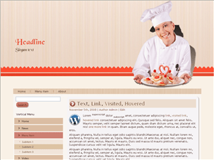 Кулинарный шаблон Вордпресс Bakery-cook