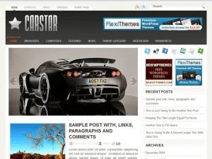 Wordpress тема авто CarStar
