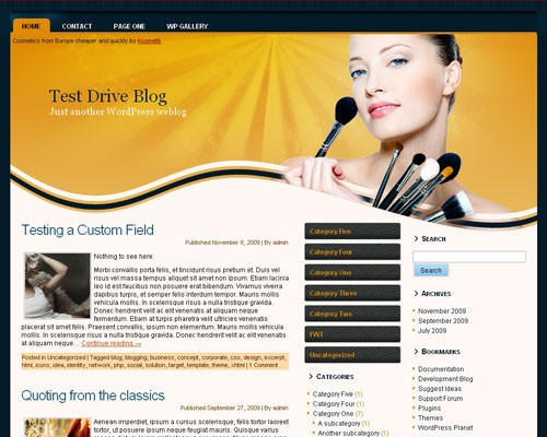 Вордпресс шаблон косметика Cosmetics-theme-3