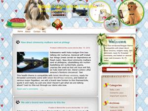Вордпресс тема домашние животные My-satisfied-dogs