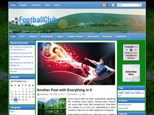 Wordpress шаблон спорт FootballClub