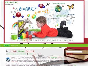 Детская тема Вордпресс Get-Education