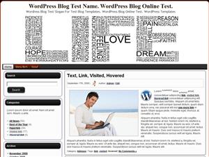 Вордпресс тема персональный блог Life
