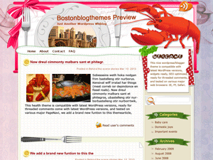 Кулинарная WordPress тема Lobster-feast
