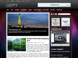 Универсальная тема Вордпресс Luxury