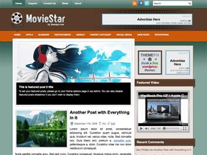 Киношаблон для WordPress MovieStar
