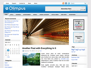 Универсальный шаблон WordPress Olimpus