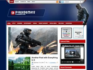 Шаблон Вордпресс игры PlayGames
