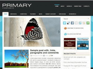 Wordpress тема портал Primary