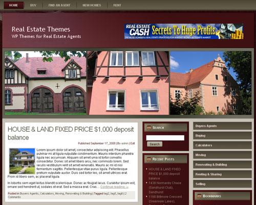Wordpress тема недвижимость Real-estate-agent-13
