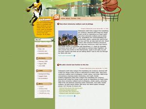 Wordpress шаблон спорт Tournaments