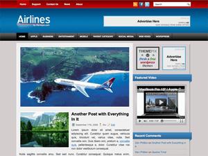 Wordpress шаблон авиа Airlines