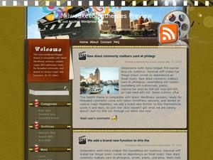 Кино шаблон WordPress Authenticity-in-film