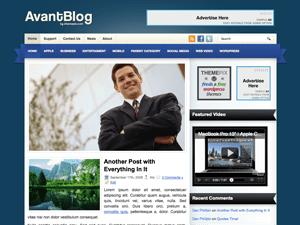 Вордпресс тема персональный блог AvantBlog
