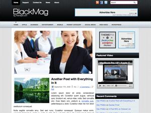 Новостной шаблон WordPress BlackMag