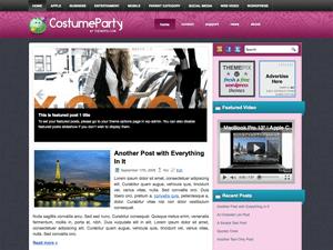 Шаблон CostumeParty