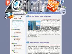 Шаблон WordPress e-бизнес Fast-and-faster