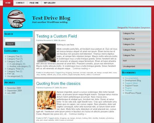 Вордпресс шаблон на тему здоровья Health-wordpress-theme