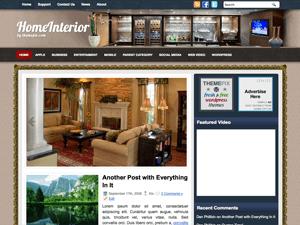 Тема WordPress домашний интерьер HomeInterior
