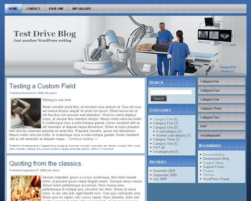 Медицинский шаблон Вордпресс Internal-medicine-wp