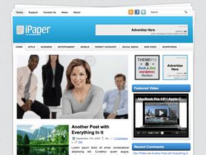 Бизнес-тема WordPress iPaper