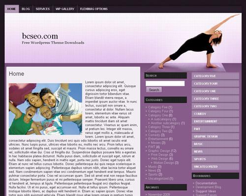 Шаблон Вордпресс йога Yoga-wp-3