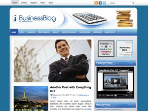 Бизнес тема для Вордпресс BusinessBlog