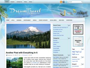 Шаблон Вордпресс туризм DreamTravel