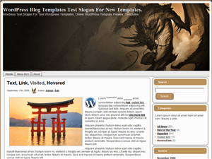 Wordpress тема игры Fantasy-Dragon